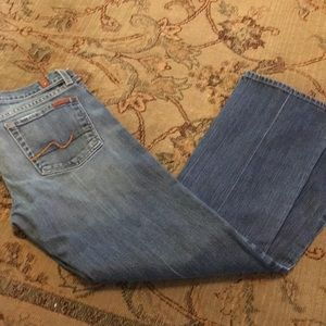 7 for All Mankind size 30 jeans boot cut